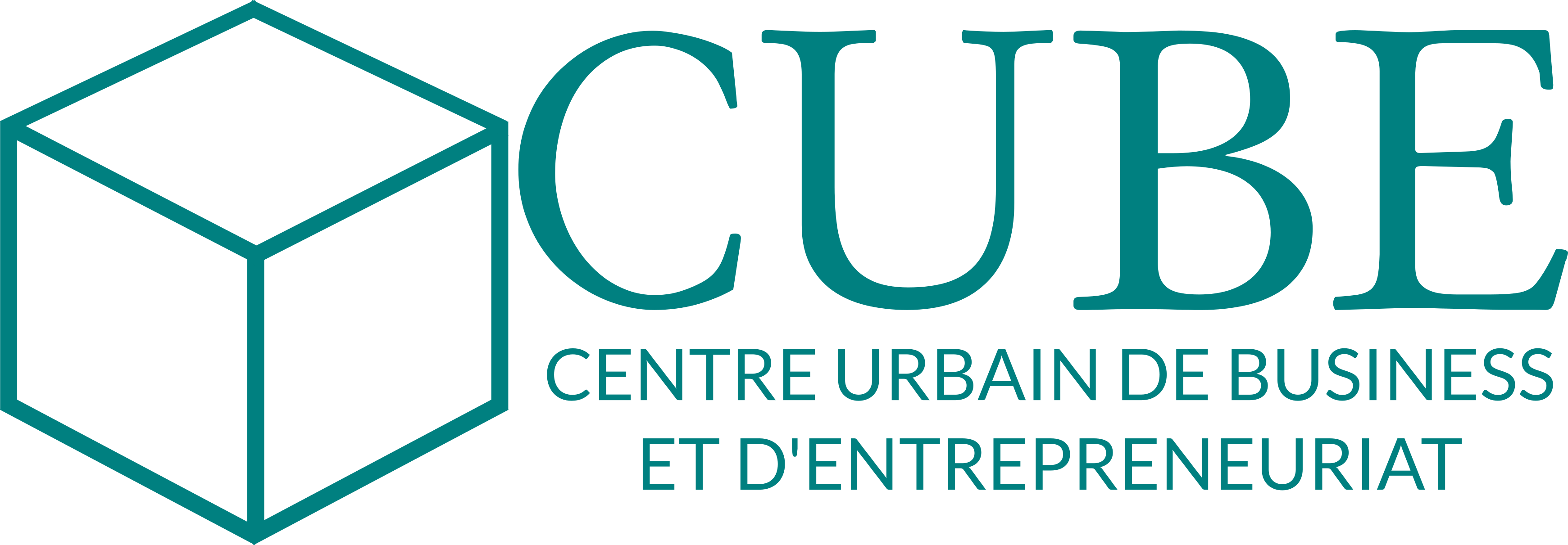 Logo CUBE Bleu